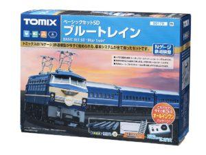 【TOMIX】ベーシックセットSD ブルートレイン 再生産