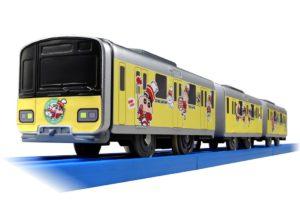 【プラレール】SC-08 東武50050型 クレヨンしんちゃんラッピングトレイン 発売