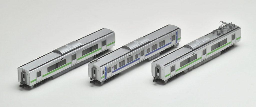 JR 733-3000系近郊電車(エアポート)増結セット
