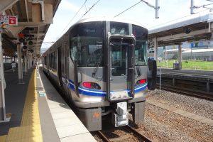 521系3次車(Photo by:223keisinkaisokuhimejiyuki / Wikimedia Commons / CC-BY-SA-4.0)※画像の車両は商品と仕様が異なる場合があります