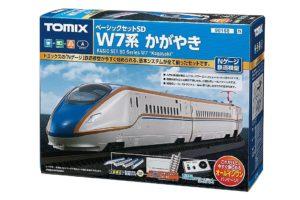 TOMIX トミックス 90168 ベーシックセットSD W7系かがやき-02
