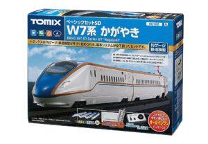 【TOMIX】ベーシックセットSD W7系 かがやき 再生産