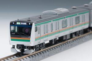【TOMIX】E233系3000番台 車載カメラシステムセット 再生産