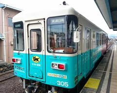 【TOMIX】長良川鉄道 ナガラ300形(305号・ヤマト運輸 貨客混載)発売