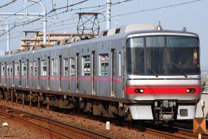 名鉄5000系(Photo by: Tennen-Gas / Wikimedia Commons / CC-BY-SA-3.0)※画像の車両は商品とは仕様が異なることがあります