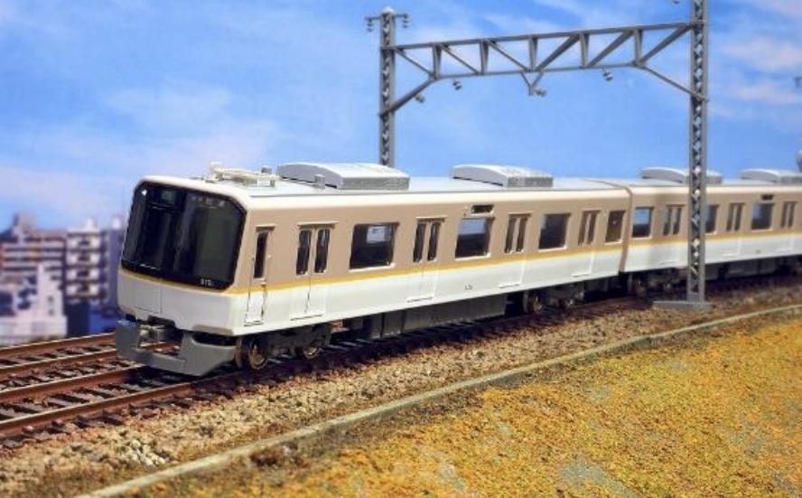 GREENMAX グリーンマックス 30804 近鉄3220系(フルカラーLED行先表示車)6両編成セット(動力付き)