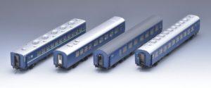 【TOMIX】(HO)10系(夜行急行列車)発売