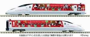 【TOMIX】限定品 800系1000番台(JR九州 Waku Waku Trip 新幹線 ミッキーマウス&ミニーマウス デザイン)発売