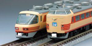 【TOMIX】485系 雷鳥(クロ481-2000付属編成)再生産