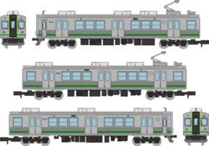 【鉄コレ】養老鉄道7700系 TQ12編成(緑歌舞伎)発売