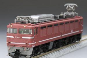 TOMIX 7131-JR EF81形電気機関車(初期型・JR貨物更新車)