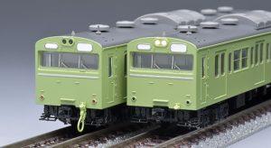 【TOMIX】103系(高運転台ATC車・ウグイス)再生産