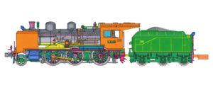 【KATO】8620形(東北仕様)/花輪線貨物列車 発売