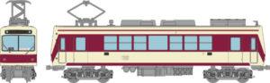 【鉄コレ】叡山電鉄700系 722号車(登場時カラー)発売