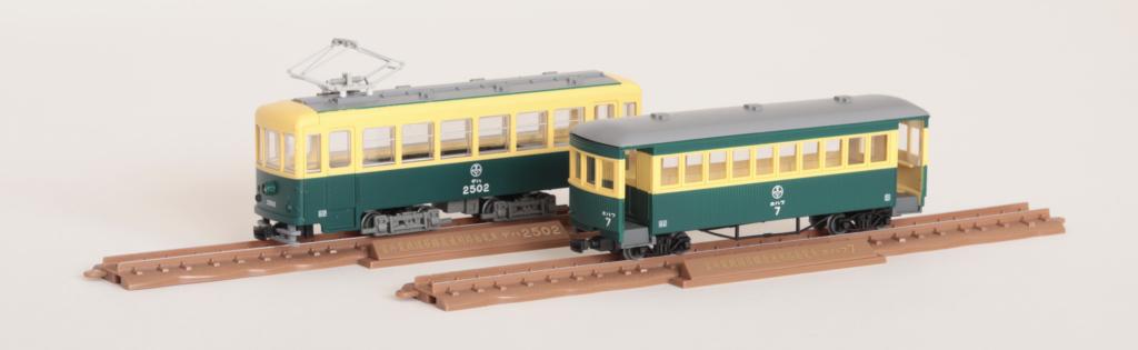 鉄道コレクション ナローゲージ80 猫屋線直通用路面電車(全金車)+客車セット