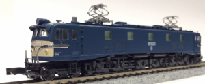 【KATO】京都駅店特製品 EF58形81号機(ヒサシ付き・広島機関区)発売
