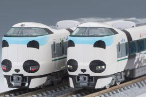 TOMIX トミックス 97933 特別企画品 JR 287系特急電車(パンダくろしお・Smileアドベンチャートレイン・新ロゴ)セット