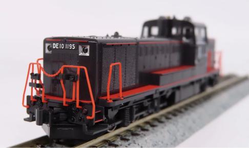 DE10形1195号機(JR九州仕様・登場時)