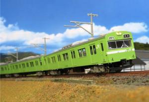 【グリーンマックス】103系(関西形・ウグイス・NS407編成・グレー台車)発売