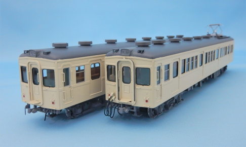 カツミ 東武7300系 セイジクリーム 2両編成セット