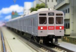 【グリーンマックス】東急電鉄8500系(大井町線・8640編成・赤帯)発売