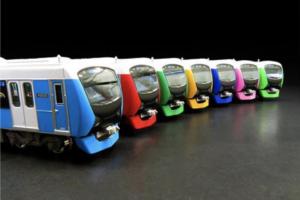 【CROSSPOINT】限定品 静岡鉄道A3000形(shizuoka rainbow trains)