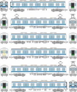 【鉄コレ】東武鉄道8000系 更新車(8114編成・8501編成)発売
