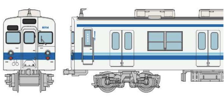 鉄道コレクション 東武鉄道8000系81114編成 6両セット