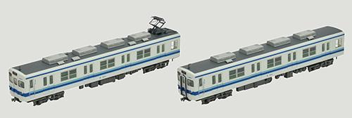 鉄道コレクション 東武鉄道8000系8579編成2両セット