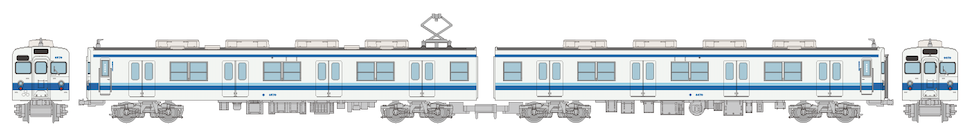 鉄道コレクション  東武鉄道8000系8579編成 2両セット