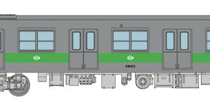 鉄道コレクション 【鉄コレ】大阪市営地下鉄 中央線20系(旧塗装)