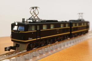 【KATO】京都駅店特製品 EH10形21号機(PS22パンタグラフ装備・ 吹田第二機関区)