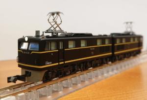 【KATO】京都駅店特製品 EH10形21号機(PS22パンタグラフ装備・ 吹田第二機関区)発売