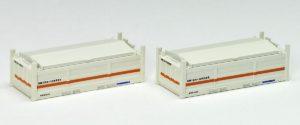【TOMIX】私有 UM12A-105000形コンテナ(クリーム)再生産