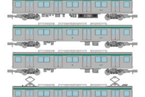 鉄道コレクション 京都市交通局10系1・2次車 6両セットA