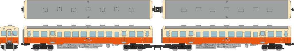 鉄道コレクション 小湊鐵道キハ200形(キハ202+キハ204)2両セット