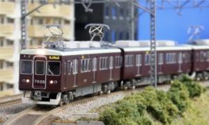【グリーンマックス】阪急7000/7300系増結用先頭車2両セット 発売