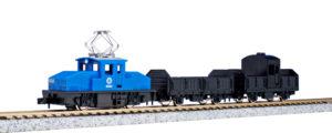 【KATO】チビ凸セット いなかの街の貨物列車(青)再生産
