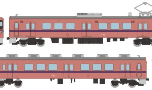 鉄道コレクション 上信電鉄700形 705編成(旧標準色)2両セットB