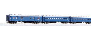 【KATO】旧形客車(4両セット・ブルー)発売