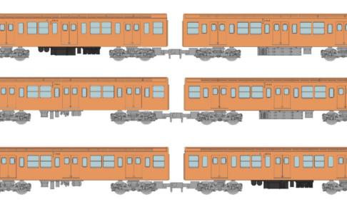 鉄道コレクション 営団地下鉄銀座線2063編成6両セット
