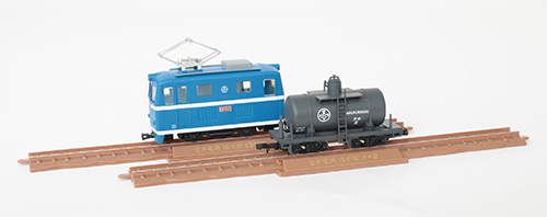 鉄道コレクション 鉄コレ ナローゲージ80 猫屋線直通用路面電気機関車+タンク貨車 2両セット