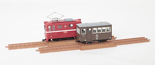 鉄道コレクション 鉄コレ ナローゲージ80 猫屋線直通用路面電気機関車+客車 2両セット