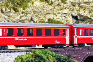 KATO カトー 10-1413 アルプスの赤い客車 EWⅠ