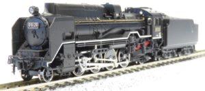 【KATO】京都駅店特製品 D51形25号機(重油タンク付・福知山機関区)発売