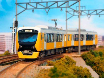 【グリーンマックス】静岡鉄道A3000形(ブリリアントオレンジイエロー・新ロゴ)発売