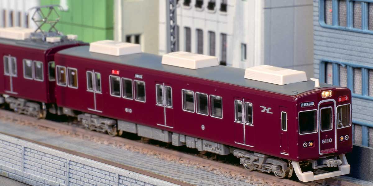 GREENMAX グリーンマックス gm 30429 阪急6000系(旧塗装・神戸線)基本6両編成セット(動力付き)