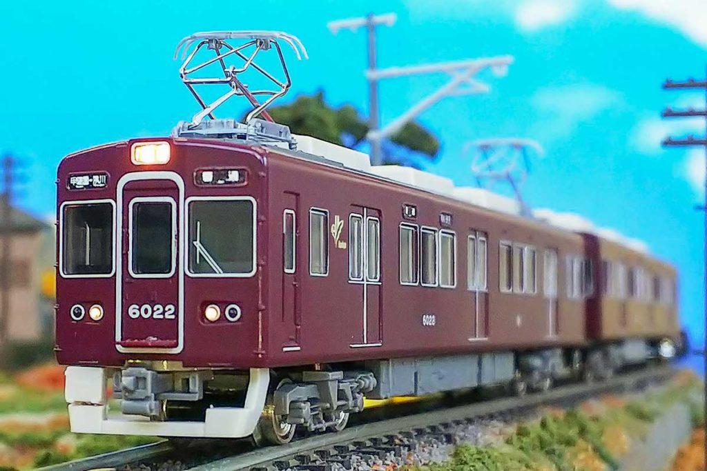 GREENMAX グリーンマックス gm 30997 阪急6000系(旧塗装・今津(南)線・甲陽線)3両編成セット(動力付き)