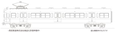 【エンドウ】(HO)西武鉄道 451系・601系 発売
