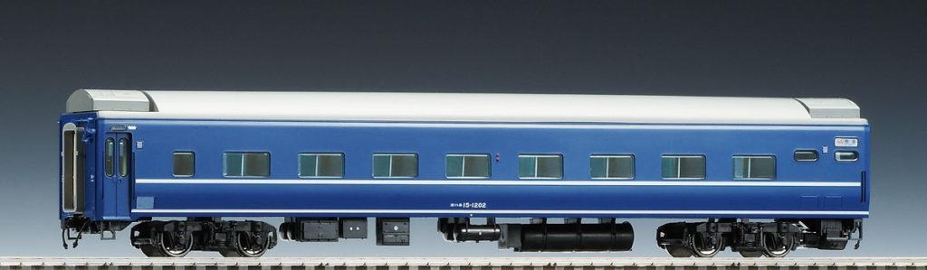 TOMIX トミックス HO-5024 JR客車 オハネ15形(白帯)